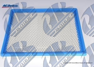15908916 GENERAL MOTORS ФИЛЬТР ВОЗДУШНЫЙ FILTER, AIR, 4.8/5.3/6.0L, EXC. HD AIR FILTER OPTION (K47)